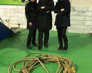 دریافت مقام سوم در مسابقات طناب کشی دختران مرکز علمی کاربردی برهان نیروی شمال