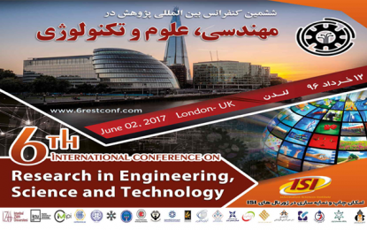 The Sixth International Conference on Research in Engineering, Science, and Technology