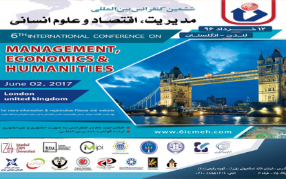 The Sixth International Conference on Management of Economics and Humanities