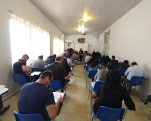برگزاری امتحانات نیمسال ۹۶-۹۷ دانشجویان مرکز علمی کاربردی برهان نیروی شمال