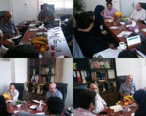 حضور مدیر عامل شرکت  RANA از کشور کانادا در مرکز علمی کاربردی برهان نیروی شمال جهت انجام مذاکرات و عقد تفاهم نامه