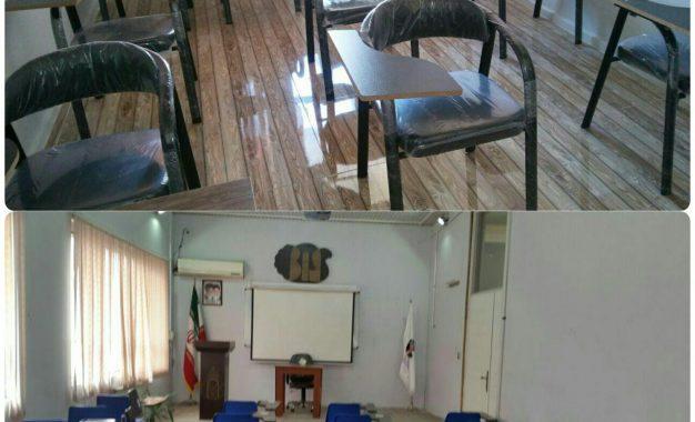 آماده سازی کلاسهای مرکز برای ترم جدید