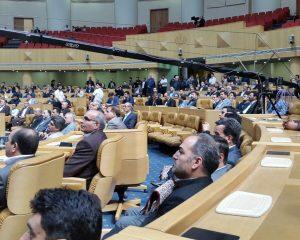 گرامیداشت بیست و پنجمین سالگرد تاسیس دانشگاه جامع علمی کاربردی  ۱۷ مهرماه ۹۶ تهران سالن اجلاس سران