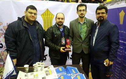 راهیابی تیم رباتیک مرکز برهان نیروی شمال به فینال  سومین دوره رقابت های jcup