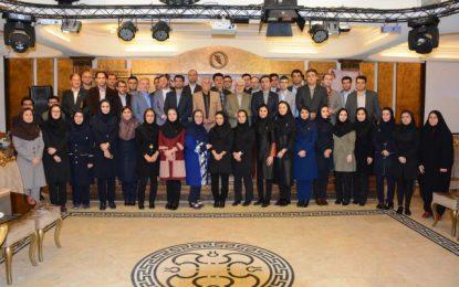 برگزاری مراسم تقدیر از استاد مرکز آموزش علمی کاربردی برهان نیروی شمال در روز استاد ۹۷
